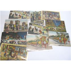 Dragon Parade Postcard Collection