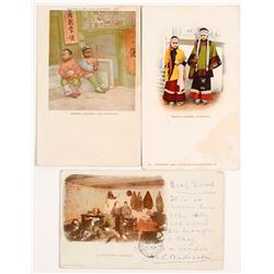 Three Very Early Chinese Postcards