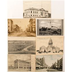 Boise Postcard Collection: Early Color and Black and Whites
