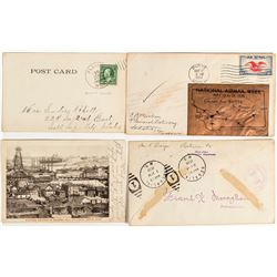 Butte Envelope and Postcard