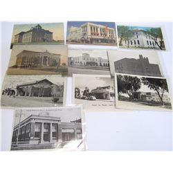 Buildings in New Mexico - Postcard Collection with RPC's