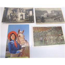 Four Ranch Postcards - Including Anamis Headquarters RPC