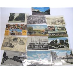 New Mexico Town Views - Postcards