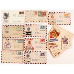 First Flight & Patriotic Covers