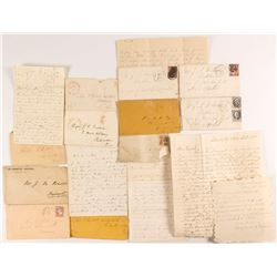 Grab Bag of Letters and Postal History Covers
