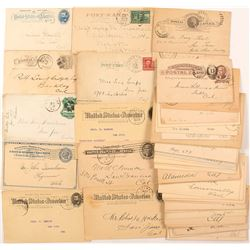 Philatelic Postal Card Collection