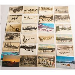 Dogsled Postcards: Canadian & United States