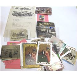 Collection of Billiards and Pool Hall Ephemera (75+ pieces)