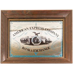 American Express and Co. Bank and Exchange Sign