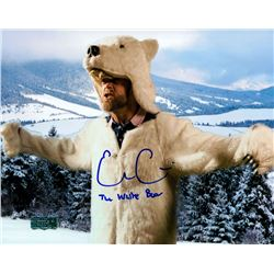 "Evan Gattis Signed 8x10 Photo Inscribed ""The White Bear"" (Radtke COA)"