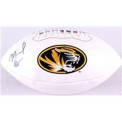 Michael Sam Signed Missouri Logo Football (Radtke COA)