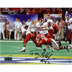 Tony Gilbert Signed Georgia 8x10 Photo (Radtke COA)