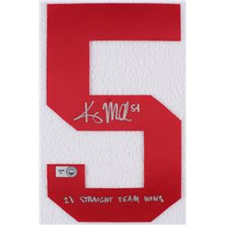 "Kris Medlen Signed Braves Jersey Number #5 Inscribed ""23 Straight Team Wins"" (MLB Hologram)"