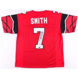 Steve Smith Sr. Signed Utah Jersey (Smith Hologram)