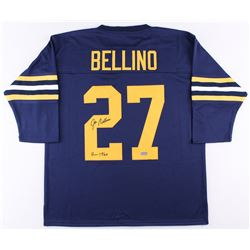 "Joe Bellino Signed Navy Jersey Inscribed ""H 1960"" (Radtke COA)"