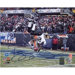Reggie Bush Signed Saints 8x10 Photo (Bush Hologram)