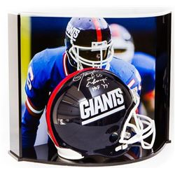"Lawrence Taylor Signed LE Giants Full-Size Authentic Pro-Line Helmet Inscribed ""2X SB Champs""  ""HOF"