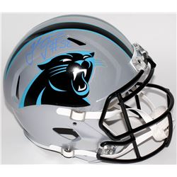 Thomas Davis Signed Panthers Full-Size Speed Helmet (Radtke COA)