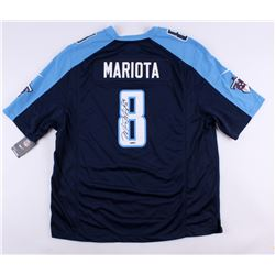 Marcus Mariota Signed Titans Nike Authentic On-Field Jersey (UDA COA)
