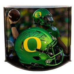"Marcus Mariota Signed Oregon Ducks Full-Size LE Authentic Proline Speed Helmet Inscribed ""Heisman 14"