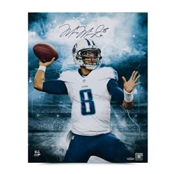 "Marcus Mariota Signed Titans ""Stadium Series"" 16x20 Photo (UDA COA)"