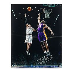 "Shaquille O'Neal Signed Lakers ""Floater"" LE 16x20 Photo (UDA COA)"