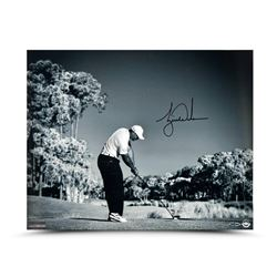 "Tiger Woods Signed ""Contact"" 16x20 Photo (UDA COA)"