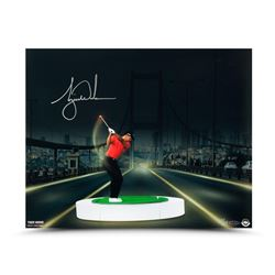 "Tiger Woods Signed ""The Bridge At Night"" LE 16x20 Photo (UDA COA)"