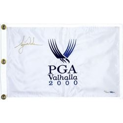 "Tiger Woods Signed LE ""2000 PGA Champ"" Pin Flag (UDA COA)"