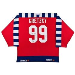 Wayne Gretzky Signed 1992 All Star Jersey LE 99 (UDA COA)