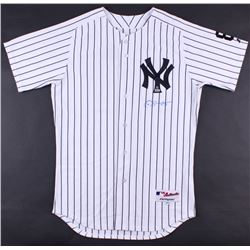 Gary Sanchez Signed Yankees Majestic Authentic On-Field Jersey (MLB Hologram  Steiner COA)