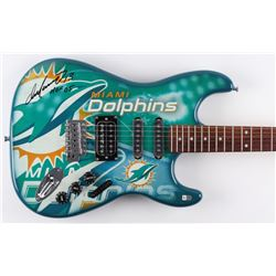 "Dan Marino Signed Miami Dolphins Custom NFL Woodrow Northender Electric Guitar Inscribed ""HOF 05"" (F"