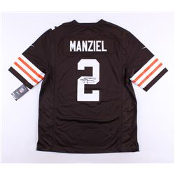 Johnny Manziel Signed Browns Nike On-Field Jersey (Panini COA)
