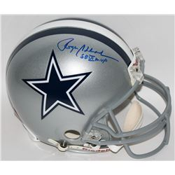 "Roger Staubach Signed Cowboys Full-Size Authentic Pro-Line Helmet Inscribed ""SB VI MVP"" (Radtke COA)"
