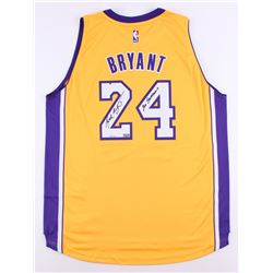 "Kobe Bryant Signed LE Lakers Authentic Adidas On-Court Jersey Inscribed ""20 Seasons"" (Panini COA)"
