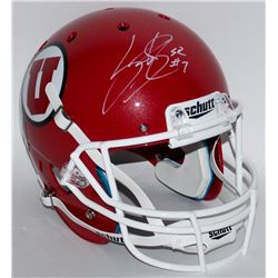 Steve Smith Sr. Signed Utah Utes Full-Size Helmet (Smith COA)