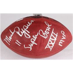 "Mark Rypien Signed Official Super Bowl XXVI Game Ball Inscribed ""Super Bowl XXVI MVP"" (Radtke Hologr"