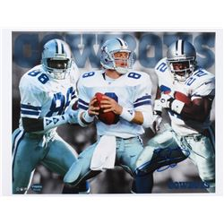 Emmitt Smith Signed Cowboys 17x22 Photo (PROVA Hologram)