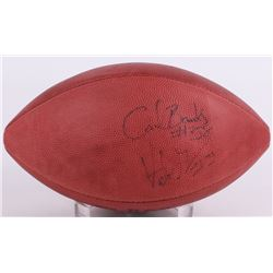 Carl Banks, Victor Green,  Adrian Murrell Signed NFL Football (JSA COA)