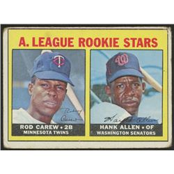 1967 Topps #569 Rookie Stars Rod Carew RC