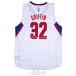 "Blake Griffin Signed Clippers LE Jersey Inscribed ""10-11 ROY"" (Panini COA)"