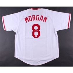 Joe Morgan Signed Reds Jersey (JSA COA)
