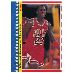 1987-88 Fleer Stickers #2 Michael Jordan