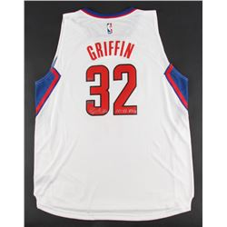 "Blake Griffin Signed LE Clippers Authentic Adidas Jersey Inscribed ""10-11 ROY"" (Panini COA)"