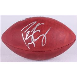 Peyton Manning Signed Super Bowl 50 Official NFL Game Ball (Fanatics Hologram  Steiner COA)