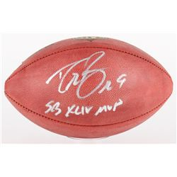 "Drew Brees Signed Official NFL Game Ball Inscribed ""SB XLIV MVP"" (Brees Hologram)"