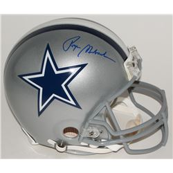Roger Staubach Signed Cowboys Full-Size Authentic Pro-Line Helmet (Steiner COA)