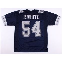 Randy White Signed Cowboys Jersey with (4) Career Stat Inscriptions (JSA COA)