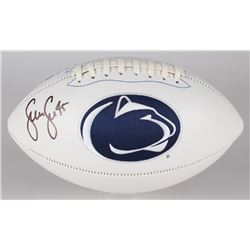 Sean Lee Signed Penn State Nittany Lions Logo Football (JSA COA)