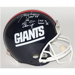 Lawrence Taylor Signed Giants Full-Size Authentic Helmet With (4) Career Stat Inscriptions (JSA COA)